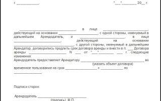 Дополнительное соглашение к договору поставки: скачать образец