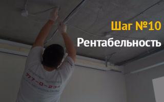Бизнес на натяжных потолках — как открыть и заработать