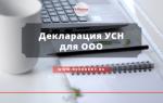 Новая налоговая декларация усн 2018-2019 скачать бланк бесплатно