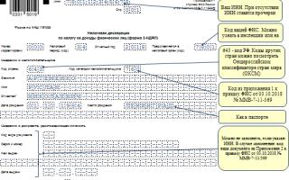 Как заполнить декларацию 3-ндфл — инструкция, образец заполнения, сроки