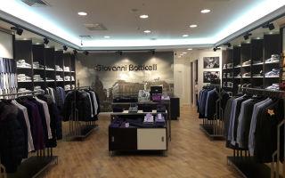 Франшиза «giovanni botticelli» — магазин мужской одежды