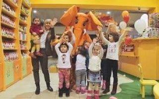 Франшиза «Оранжевый слон» — товары для детского творчества