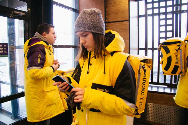 Яндекс.Еда - работа курьером: условия, зарплата, отзывы работников