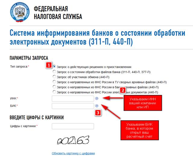Проверка ип по инн на сайте налоговой для банка
