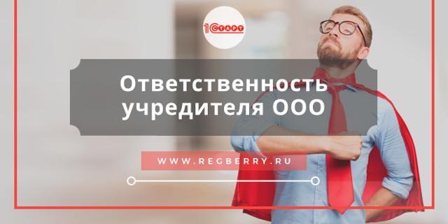 Ответственность директора и учредителя ООО по долгам