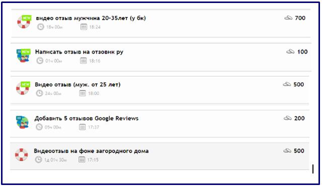 Заработок на отзывах в интернете без вложений