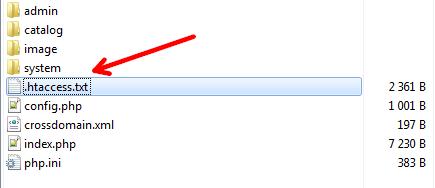 Настройка ЧПУ для opencart - обязательная seo настройка