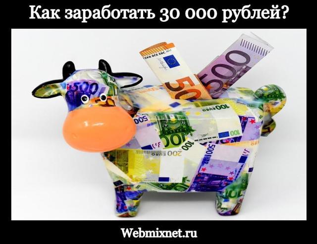 Как научиться зарабатывать на сайтах от 30 000 руб./мес.