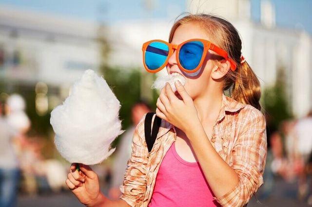 Купить аппарат для сладкой ваты и сделать бизнес летом
