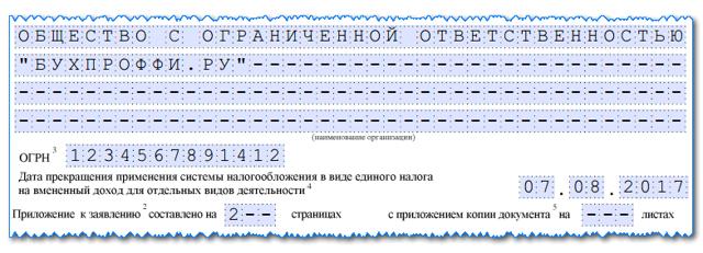 Закрытие торговой точки: порядок на ЕНВД, заявление, отчетность