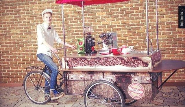 Как открыть мобильную кофейню на колесах - готовый бизнес-план