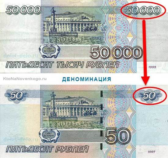Деноминация рубля в России – что это, причины, прогнозы на 2018 год