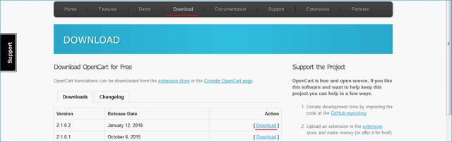 Установка cms для интернет-магазина opencart на хостинг пошагово