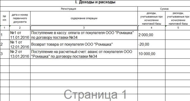 КУДИР для ИП и ООО на УСН: скачать в формате excel